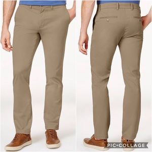 Tommy Hilfiger Men's Stretch Slim Fit Chino Pants